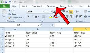 why is excel 2010 showing the formulas instead of the answers