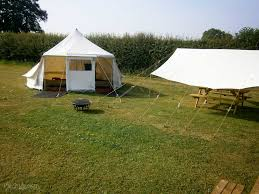 Bell Tent Awning Thorncombe Farm Dorchester Dorset Pitchup Com