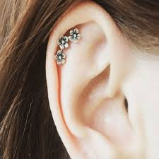 helix earing helix piercing infection jewelry healing time detailed
