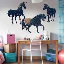 space wall decal set by chromantics silhouette decal
