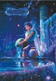 free shipping noctilucent aquarius paper horoscope jigsaw puzzles