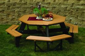 Patio Furniture Columbia Md by Outdoor Pine Teak Or Poly Picnic Tables Backyard Billy U0027s Baltimore Md