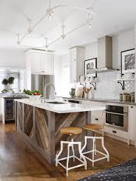 wood countertops 8 foot kitchen island lighting flooring