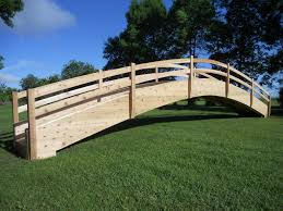 garden bridges pond bridges wooden bridges