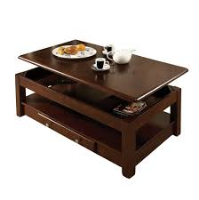 coffee table lift top coffee table in espresso with plans
