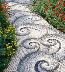 landscaping ideas with river rock