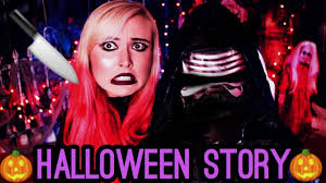 in the mask scary halloween story youtube