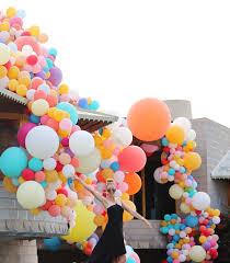 david wright house balloon art installation u2014 with love u0026 style