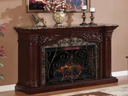 large electric fireplace with mantel fireplace ideas