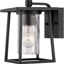 Outdoor Wall Sconce Quoizel Lodge Outdoor Lantern Ldg8406kfl Transitional