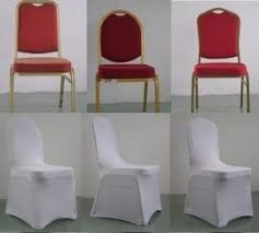 Banquet Chair Cover 100 Spandex Lycra Wedding Chair Covers White Amazon Co Uk