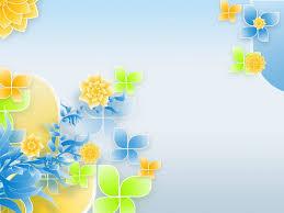 floral pattern design backgrounds for presentation ppt