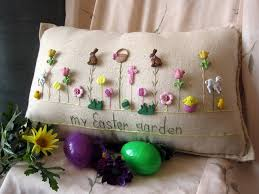 16 adorable handmade decorative easter pillows style motivation