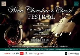 Chocolate Wine Review Not To Miss The Wine Chocolate And Cheese Festival