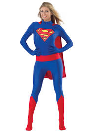 supergirl halloween costumes superman unisex skin suit