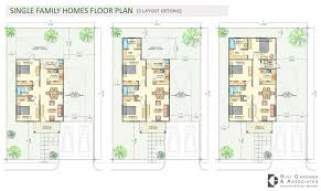 Single Family House Plans by Floor Plans