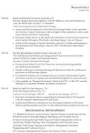 Sample Resume For Banking Operations by Resume For Senior Position In Financial Services Susan Ireland