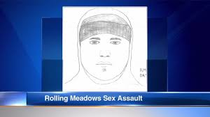 rolling meadows police release sketch of suspect in assault