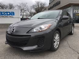 lexus richmond hill mazda mazda3 for sale in richmond hill ontario