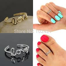 girl finger rings images Letter adjustable opening finger ring women girls ancient silver jpg