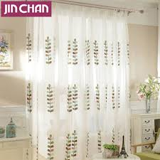 image of sheer kitchen curtains dining room beach style with