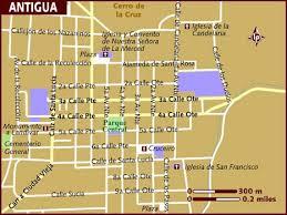 america map guatemala map of antigua guatemala