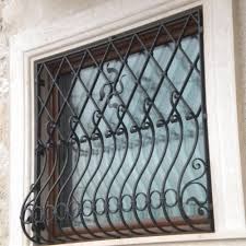 wrought iron grilles and protections gates grille for window