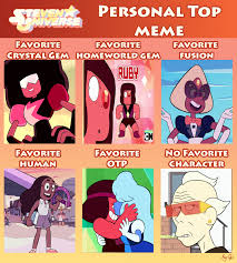Steven Universe Memes - steven universe personal top meme by gay mage of space on deviantart