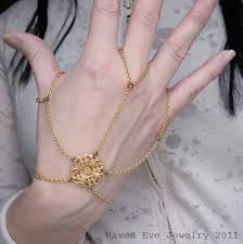 hand bracelet jewelry images Raven eve gothic jewelry spinnerete gothic filigree cage jpg