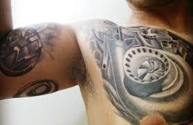 grey simple car tattoos golfian com