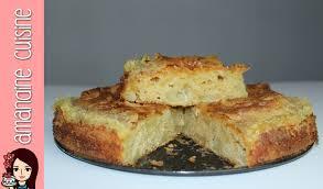 amandine cuisine recette du gâteau aux pommes caramélisées