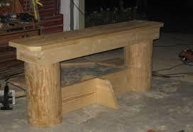 anyone here make log furniture