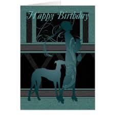 happy birthday deco greeting cards zazzle