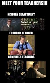 Science Teacher Meme - if movie and tv characters were your teachers pleated jeans