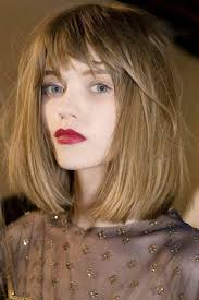 above shoulder length hairstyles with bangs medium length hairstyles with bangs for thick hair svapop