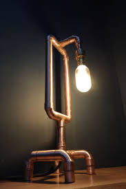 Plumbing Pipe Floor Lamp by 318 Best Copper Pipe Ideas Images On Pinterest Copper Lamps