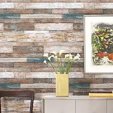 wood look wallpaper amazon com