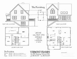 a frame floor plans timber frame floor plans beautiful post beam home plans in vt