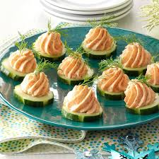 canape mousse salmon mousse canapes recipe taste of home