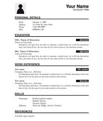 Sample Resume Template 53 Download In Psd Pdf Word by Top 27 Best Free Resume Templates Psd Ai 2017 Colorlib Plain Text
