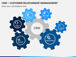 customer relationship mangement crm powerpoint template