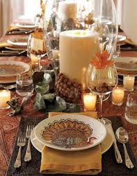 serene thanksgiving table setting centerpieces wedding and