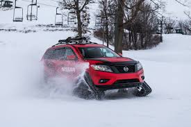 nissan canada winter tires nissan triples down on winter warrior concepts