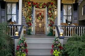 Christmas Decorations For Front Porch by Christmas Decoration Ideas For Front Porch