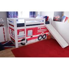 fire truck bunk bed with slide u2014 mygreenatl bunk beds how to