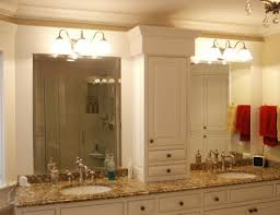 Cottage Bathroom Lighting Cottage Mirrors For Bathrooms Home Design Ideas And Pictures
