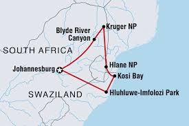Swaziland Map Swaziland Tours U0026 Travel Intrepid Travel Au