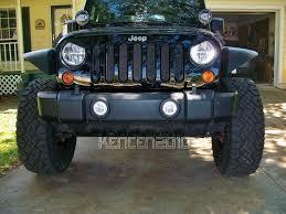 jeep light covers for 07 14 jeep wrangler jk eyebrow headlight covers trim bezels 4d