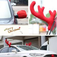 reindeer antlers for car 3pcs set christmas reindeer antlers car costume car truck costume
