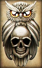 owl tattoos design 42 best owls with skull faces tattoo images on pinterest face